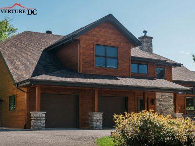 Quand changer ma toiture, image d'une toiture de bardeaux réalisée par Couverture DC à Québec