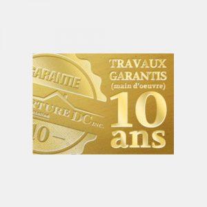 Travaux garanties 10 ans